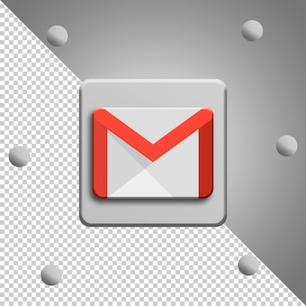 Google mail-logo-rendering isoliert