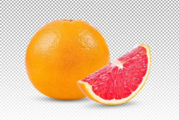 Grapefruit isoliert
