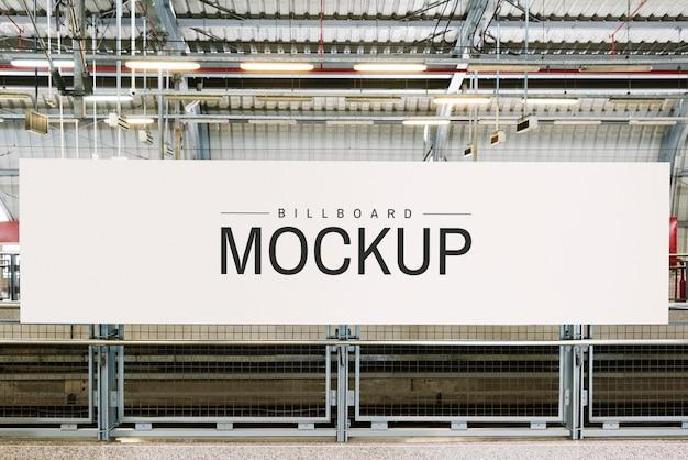 Großes billboard-modell für werbung