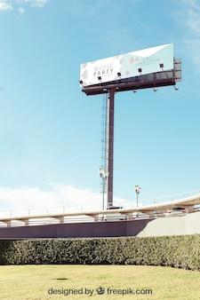 Großes billboard-modell
