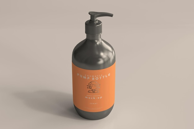 Großes pumpflaschenmodell