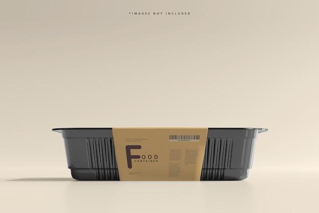 Großformatiges lebensmittelbehälter-modell
