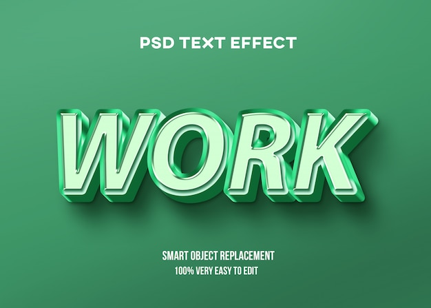 Grünes pastell mit glänzendem texteffekt