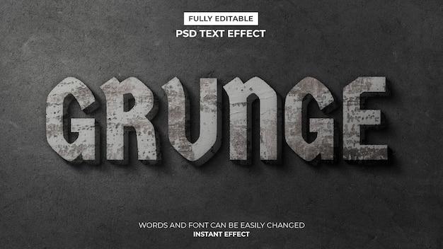 Grunge-text-effekt