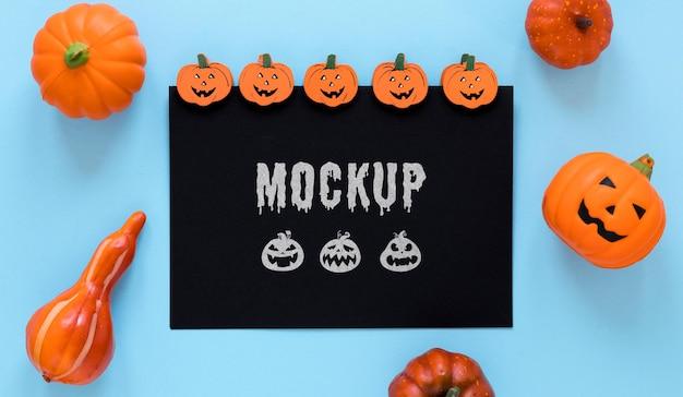 Gruseliges arrangement halloween-event