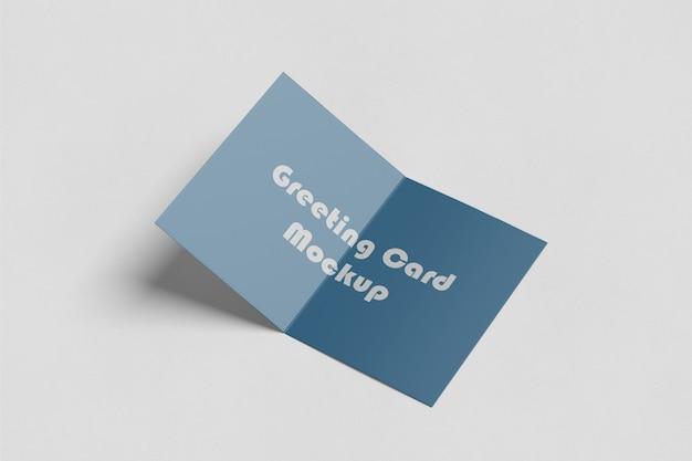 Gruß- / einladungskarte mockup