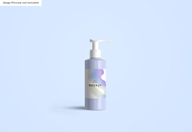 Händedesinfektionsmittel-flaschenmodell