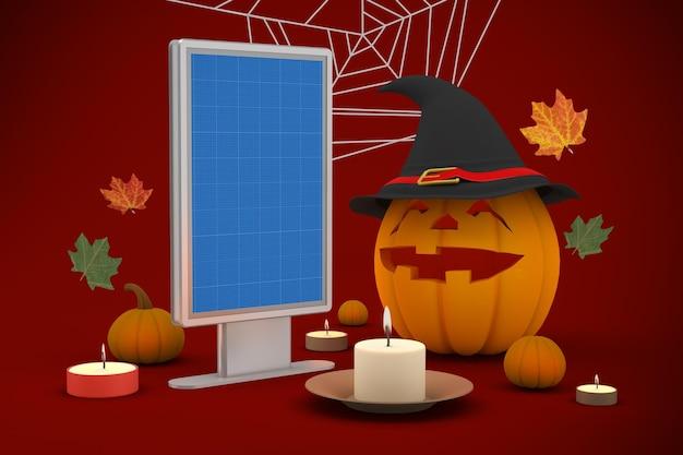 Halloween billboard-modell