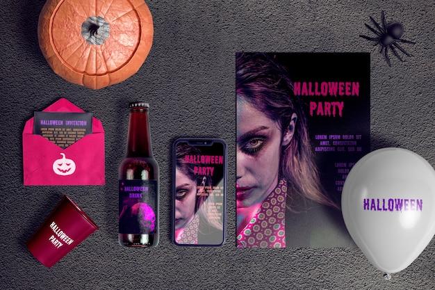 Halloween-konzeptszenenschöpfer