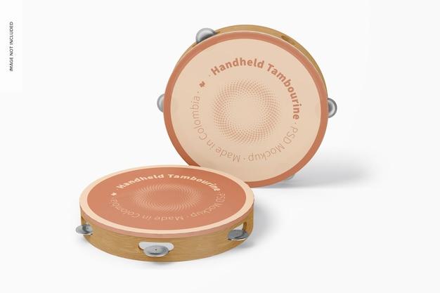 Handheld-tamburin-modell