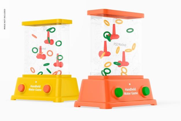 Handheld-wasserspiele-modell