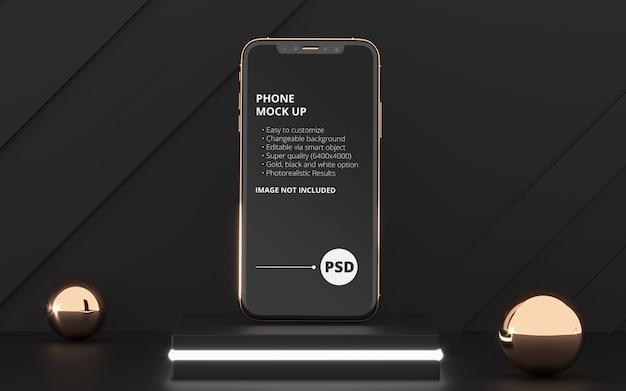 Handy-bildschirm modell