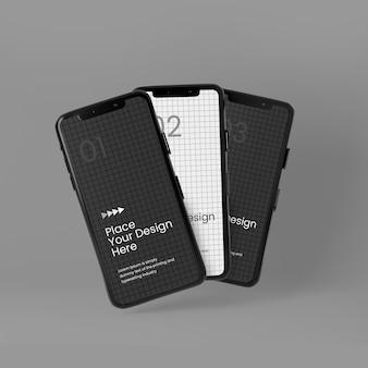 Handy-vollbild-mockup-design