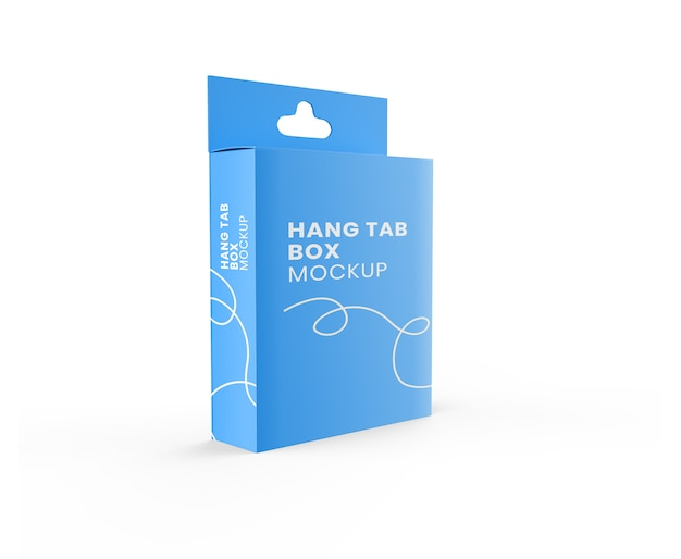 Hang tab box realistisches modell