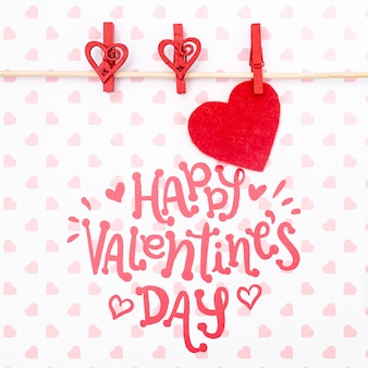 Happy valentinstag schriftzug