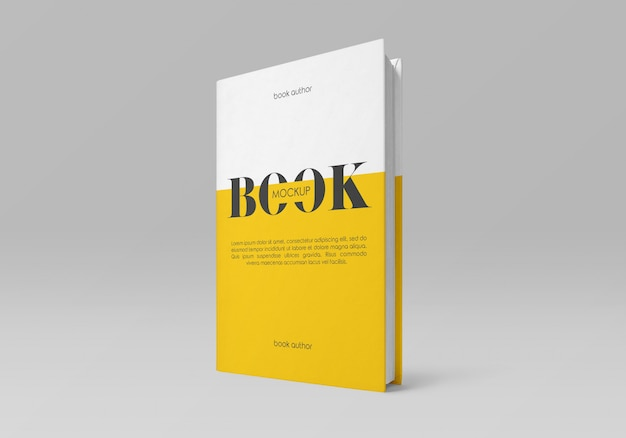 Hardcover-buchmodell