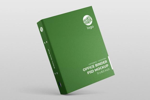 Hardcover company office binder dokumentordner kippen bearbeitbares modell