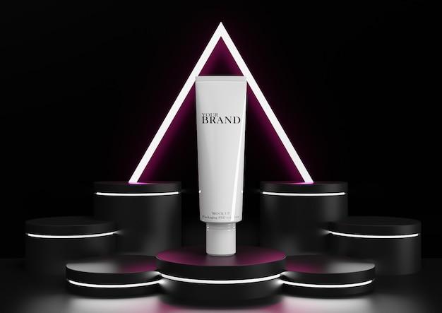 Hautpflege feuchtigkeitsspendende kosmetische premiumprodukte