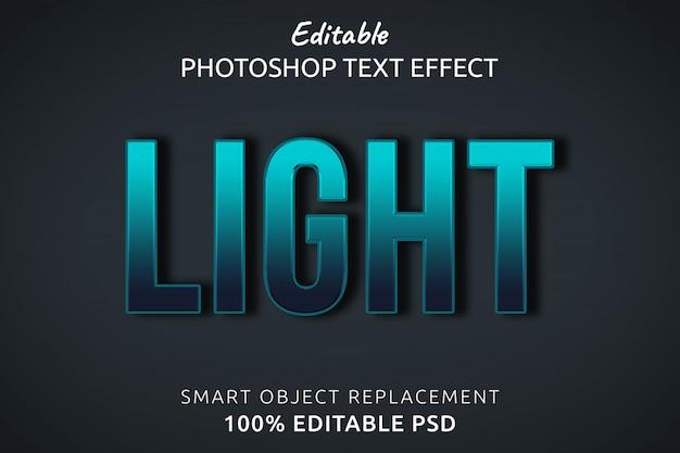 Heller textstil-effekt