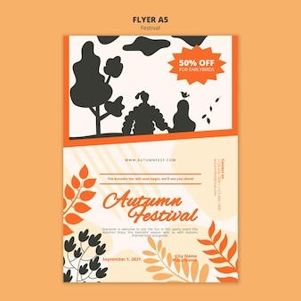 Herbstfest a5 flyer