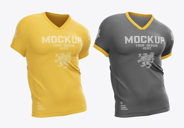 Herren sport t-shirt mockup