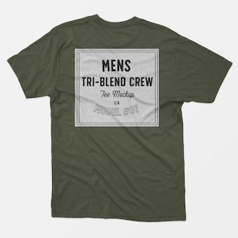 Herren tri-blend crew tee modell 07