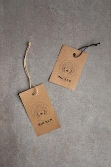 Herstellung von kleiderbügel-tags-modellen