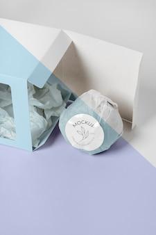 Hochwinkel-badebombe in box