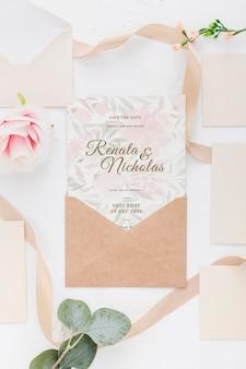 Hochzeitseinladungsmodell