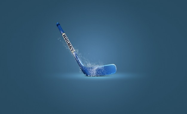 Hockey-hockeyschläger eis-symbol sport