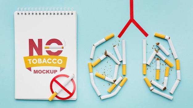 Hören sie auf, das konzeptmodell zu rauchen