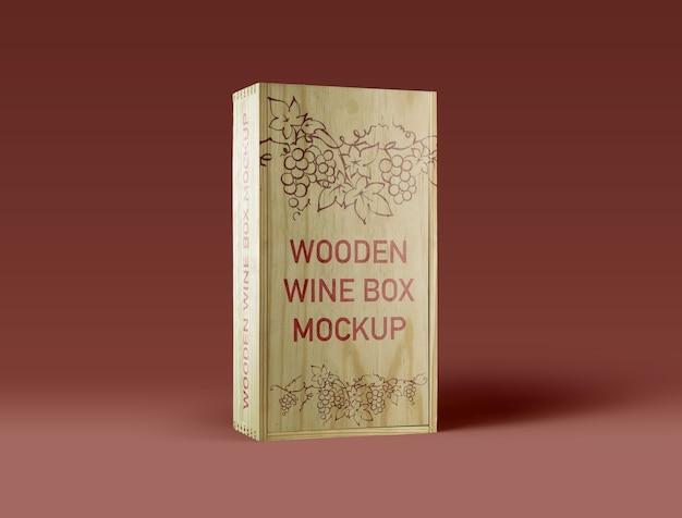 Holz-wein-box-mockup