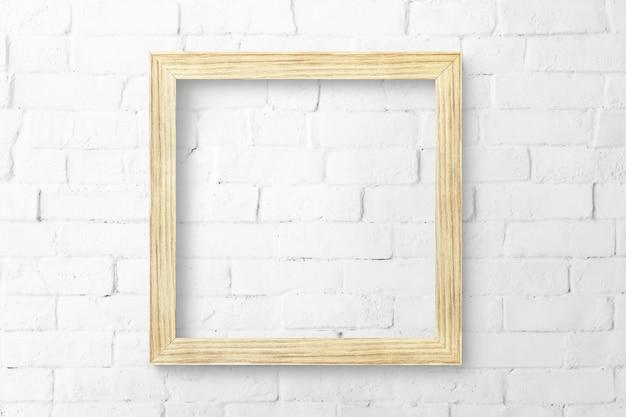 Holzbilderrahmen-modell