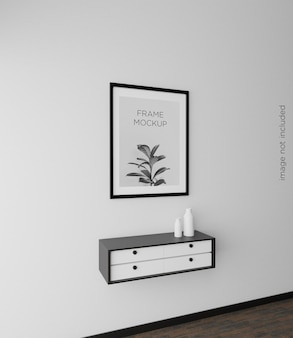 Home interior poster modell