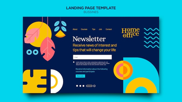Home-office-landingpage