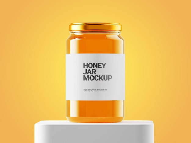 Honigglas-modell