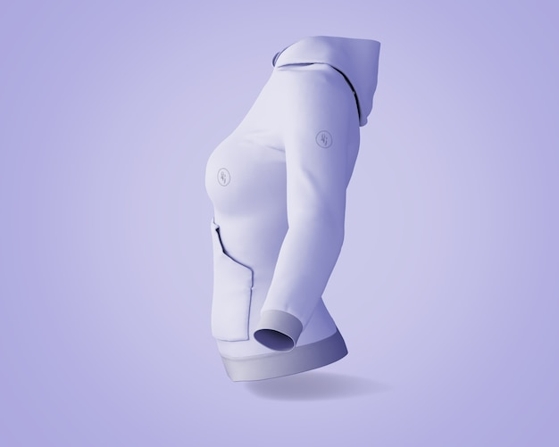 Hoodie-modell