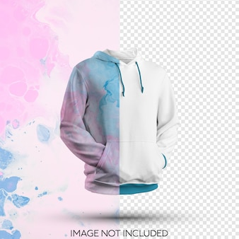 Hoodie mokcup isoliert