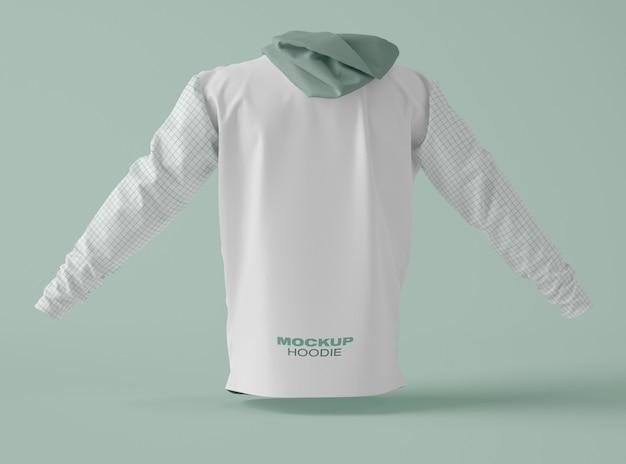 Hoodie sweatshirt modell