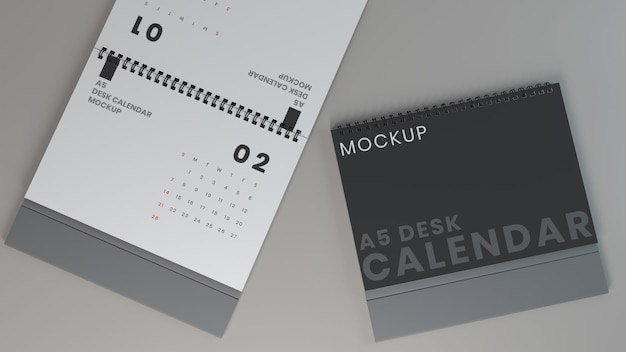 Horizontale tischkalendermodelle