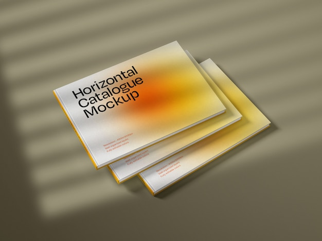 Horizontales katalogabdeckungsmodell