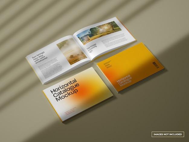 Horizontales katalogmodell