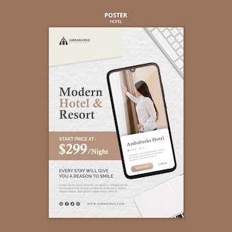 Hotel-template-design-poster-design