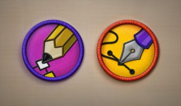 Icon icons verdienstabzeichen psd
