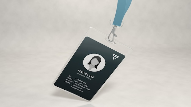 Id-karten-mockup-design