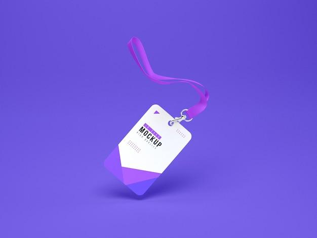 Id-kartenhalter modell