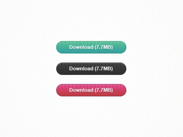 Ihr download-buttons psd material