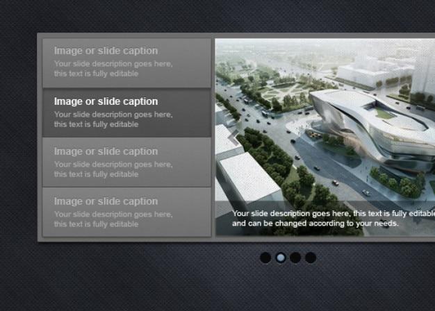 Image slider für webseiten