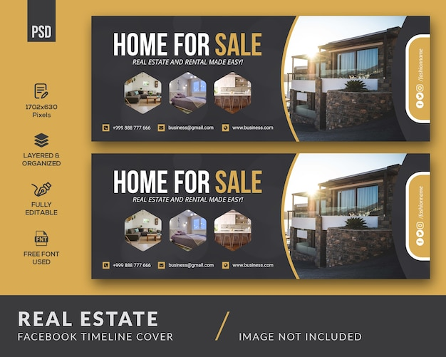 Immobilien facebook cover