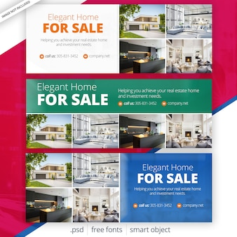 Immobilien facebook covers